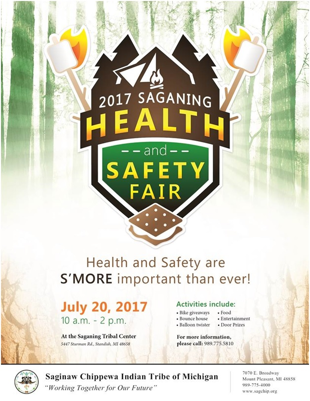 Health and safety fair flyer