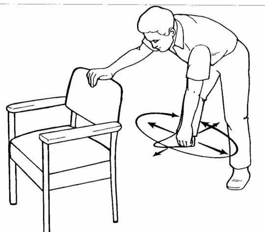 pendulum exercises paramount rehabilitation services Occupational Therapy Clinic pendulum exercises